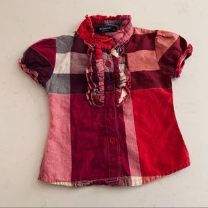 Burberry London Girls Top
